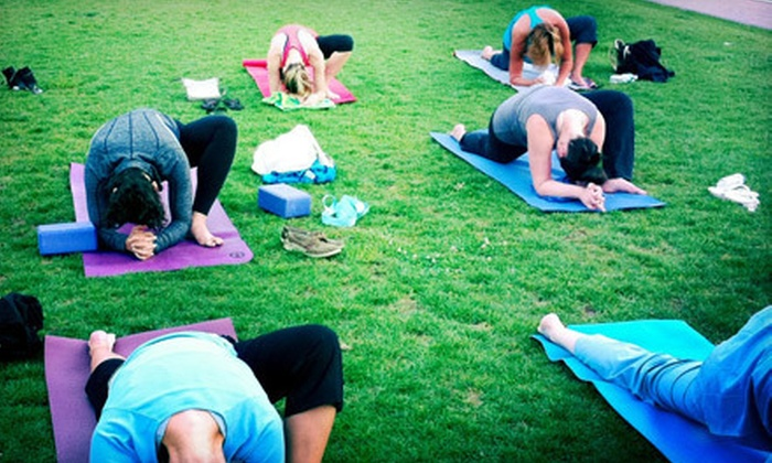 Vessel Yoga Chicago - Near West Side: 10 or 20 Outdoor Yoga Classes from Vessel Yoga Chicago (Up to 71% Off)