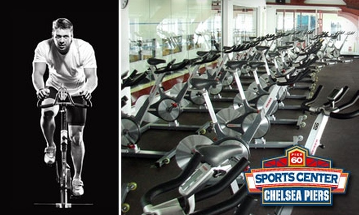 The Sports Center at Chelsea Piers - Governors Island: $35 for Three Cycling Classes at The Sports Center at Chelsea Piers ($96 Value)