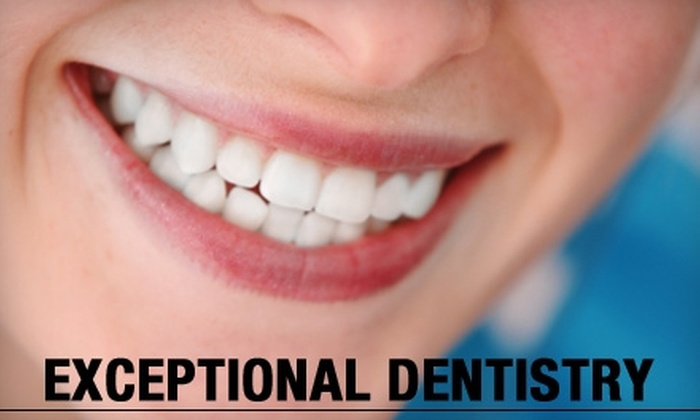 Exceptional Dentistry - Briargate: $70 for a Dental Exam, X-Ray, and Take-Home Whitening Kit at Exceptional Dentistry ($450 Value)