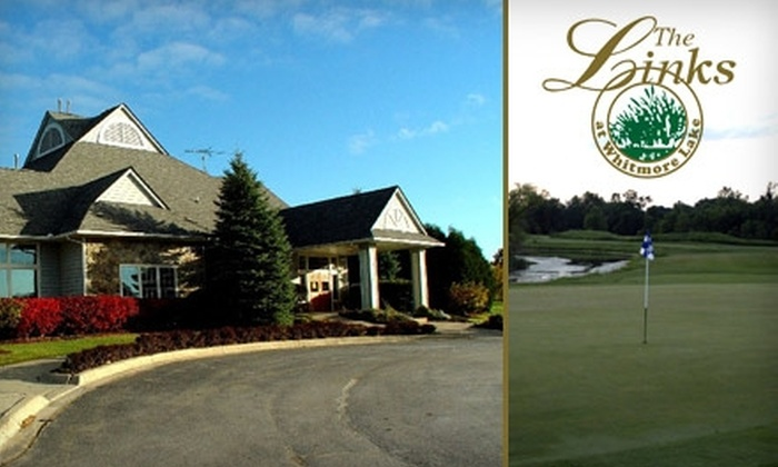 The Links At Whitmore Lake - Northfield: $15 for 18 Holes of Golf with Cart at The Links at Whitmore Lake