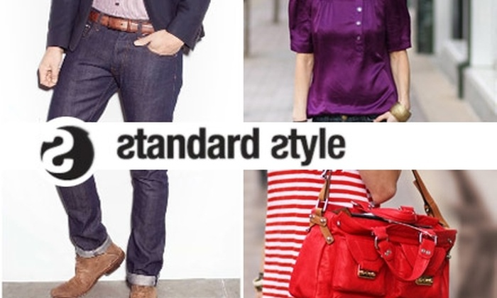 Standard Style Boutique - Multiple Locations: $45 for $100 Worth of Premium Denim and Clothing at Standard Style Boutique
