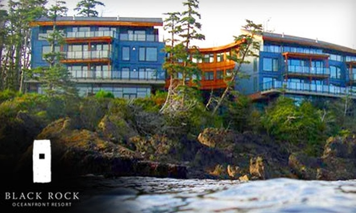 Black Rock Oceanfront Resort - Ucluelet: $289 for a Two-Night Stay, Wine, and a $50 Dinner Voucher at Black Rock Oceanfront Resort in Ucluelet ($583 Value)