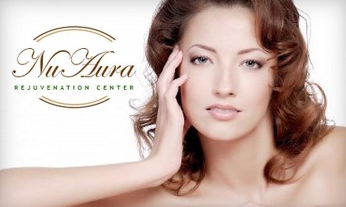 Nu Aura Rejuvenation Center - Near North Valley: Ultrasound Microdermabrasion Facial or Eyelash Extensions at Nu Aura Rejuvenation Center