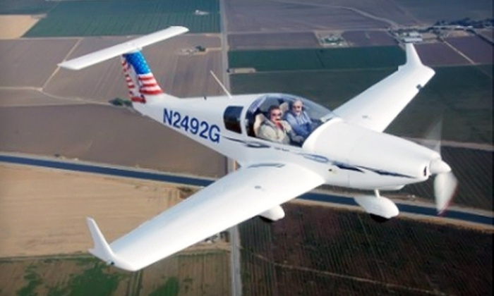 SkyView Aviation - Tracy: $49 for One Introductory Flight Lesson from SkyView Aviation
