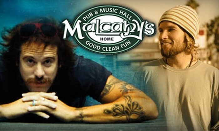 Mulcahy's Pub and Concert Hall - Wantagh: $9 for a General-Admission Ticket to Donavon Frankenreiter with Special Guest Mishka on July 13 at Mulcahy's Pub and Concert Hall ($18 Value)