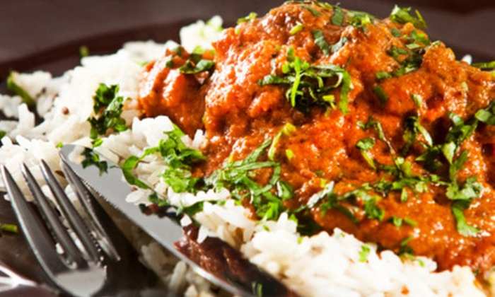 Raaga Fine Indian Cuisine & Catering - Bailey's Crossroads: Dinner for Two or Four at Raaga Fine Indian Cuisine & Catering in Falls Church