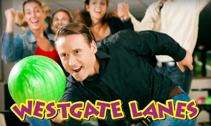 Westgate Lanes - Brockton: $24 for One Hour of Bowling for Four at Westgate Lanes (Up to $48.99 Value) in Brockton