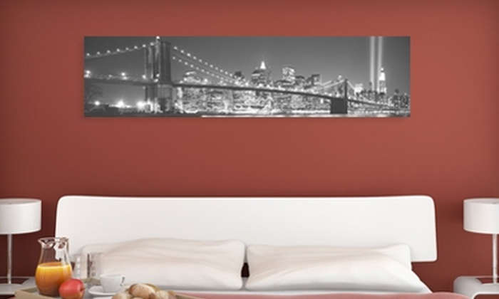 Larger Than Life Prints: $35 for a Panoramic Wall Mural from Larger Than Life Prints ($86 Value)