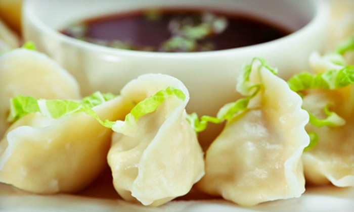 HAPPY TIME! - Little Germany,Union Square,NoHo: $12 for Drinks with Dumplings and Snacks for Two at HAPPY TIME! (Up to $28 Value)
