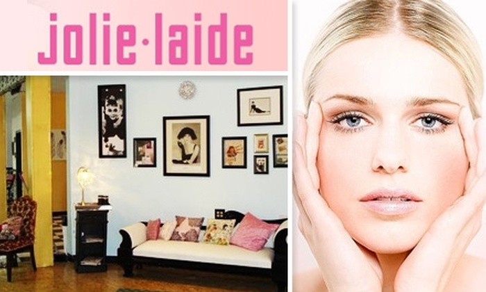 Jolie Laide - Brewery District: $35 for $75 Worth of Skincare and Waxing Services at Jolie Laide Hair Salon