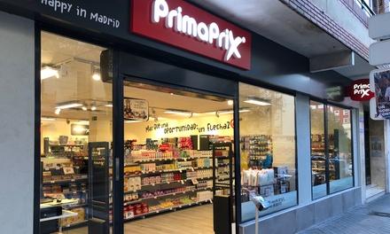 Paga 1 € por un descuento de 4 € en tiendas Primaprix