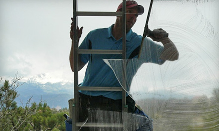I Do Windows - Colorado Springs: Interior and Exterior Window Cleaning from I Do Windows (Up to 51% Off). Three Options Available.