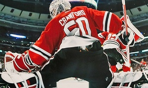 Sideline Marketing: Corey Crawford or Scott Darling Photo Op or Signing from Sideline Marketing & Sports Memorabilia (Up to 34% Off)