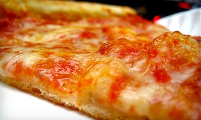 2 Brothers Pizza - Multiple Locations: $10 for $20 Worth of Pizza at 2 Brothers Pizza