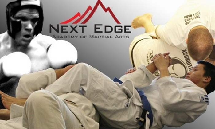 Next Edge Academy of Martial Arts - Sioux Falls: $20 for One Month of Unlimited Martial Arts and Fitness Training Classes at Next Edge Academy of Martial Arts ($85 Value)