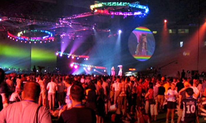 Outgames Closing Party at Plaza of Nations - Multiple Locations: $56 for Two Tickets and Fast Track Passes to Outgames Closing Party at Plaza of Nations on Saturday, July 30 ($112.40 Value)