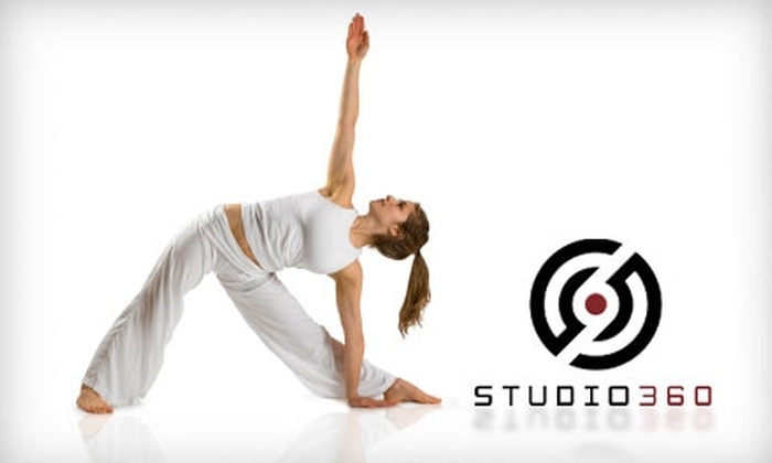 Studio 360 - Camelback East: $60 for One Month of Unlimited Spin and Yoga Classes at Studio 360 ($240 Value)