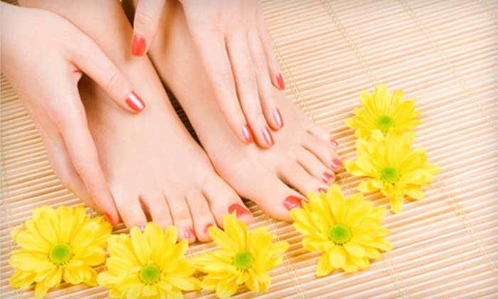 Envy Custom Nail & Hair Salon - Hayden: Nailcare Services at Envy Custom Nail & Hair Salon in Hayden, ID (Up to 55% Off). Three Options Available.