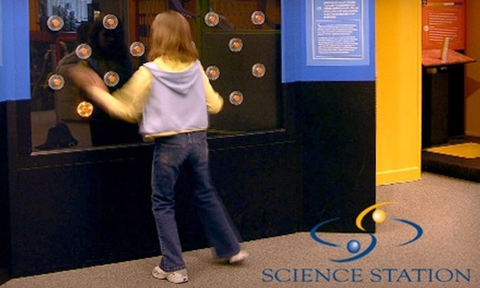 "Science Station - Cedar Rapids: $6 for a Family Admission Pack to the Science Station's ""Sportsology"" Exhibit"