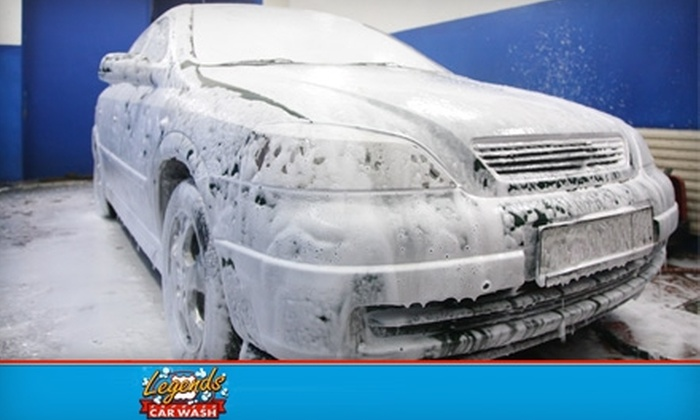 Legends Express Car Wash - Springfield: $10 for a $20 Gift Card Good Toward Car Washing Services at Legends Express Car Wash on Glenstone
