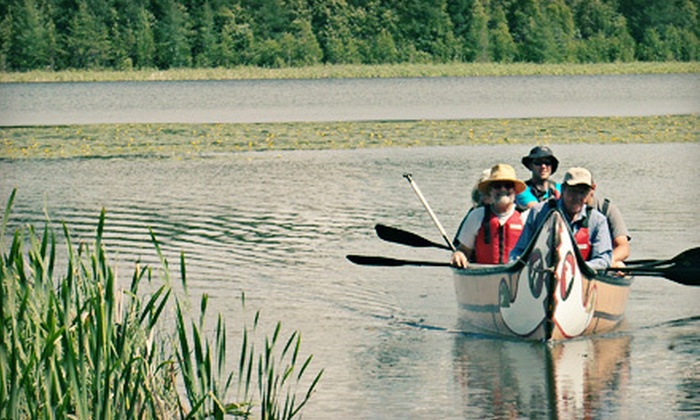 Clearwater Canoeing - Westview: Historical Canoe Tour for One or Two, or Half-Day Tour for Seven from Clearwater Canoeing (Up to 60% Off)