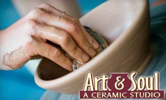 Half Off Pottery Classes Art Soul Studios Groupon