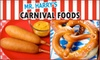 Mr. Harry's Carnival Foods - Ballwin: $7 for $15 Worth of Carnival Fare at Mr. Harry's Carnival Foods