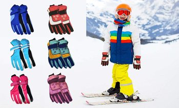 Adult or Kids Snow Gloves