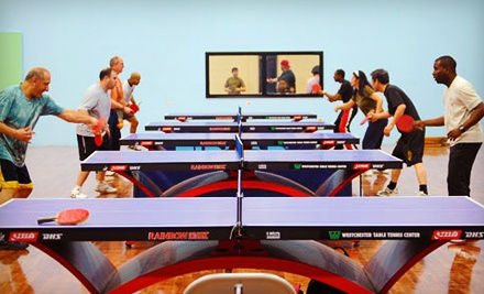 Westchester Table Tennis Center: 1 Day of Table Tennis for 2 People - Westchester Table Tennis Center in Pleasantville