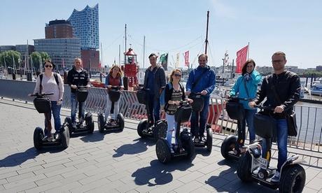 120 Minuten Segway-Tour HafenCity Hamburg für 1, 2 oder 4 Personen mit Segway Touren Hamburg