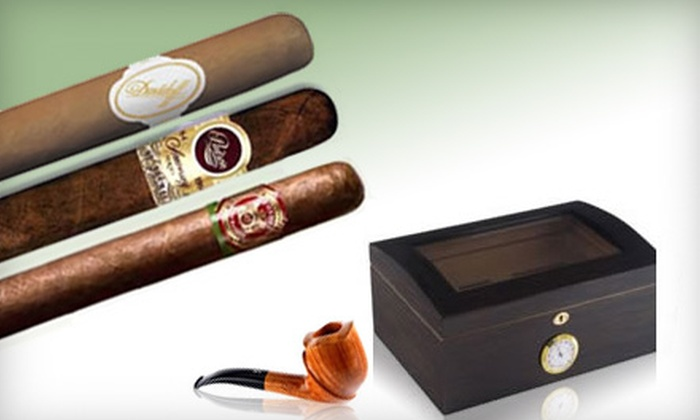 The Tinder Box - Metairie: $15 for $30 Worth of Fine Cigars, Tobacco, Humidors, Lighters, and Accessories at The Tinder Box in Metairie