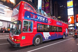 Up to $60 Off Night Bus Tour from TopView Sightseeing at TopView Sightseeing, plus 6.0% Cash Back from Ebates.