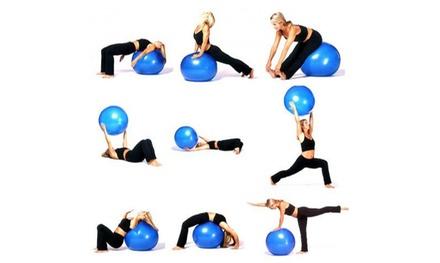 Bola de pilates para yoga y gimnasio