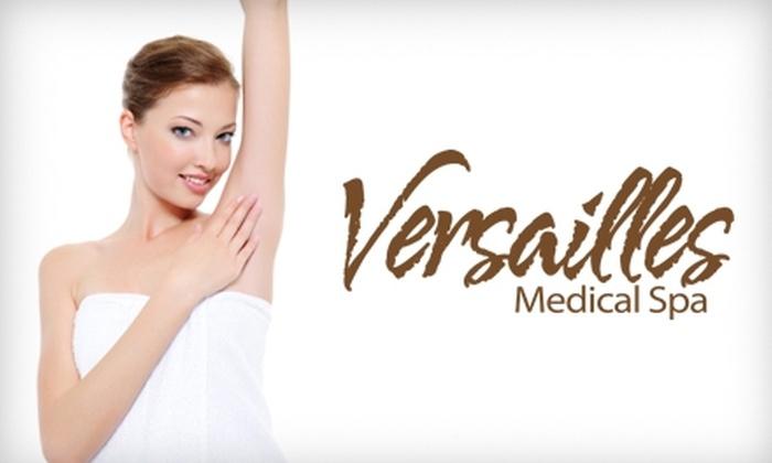 Versailles Medical Spa - Darien: $99 for Three Laser Hair-Removal Treatments at Versailles Medical Spa