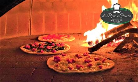 Promozione Ristoranti Groupon.it ⏰ Menu pizza con dolce e birra