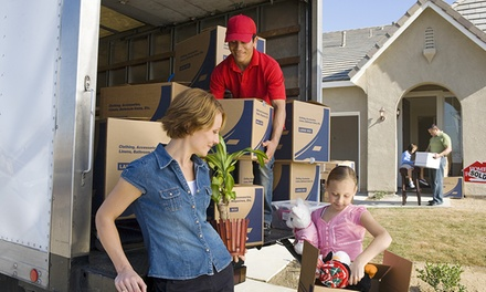 Two Movers and Truck or Trailer from Hoffmann Movers (Up to 55% Off). Three Options Available.