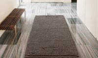Braided Chenille Oversized Bath Rug 24x60