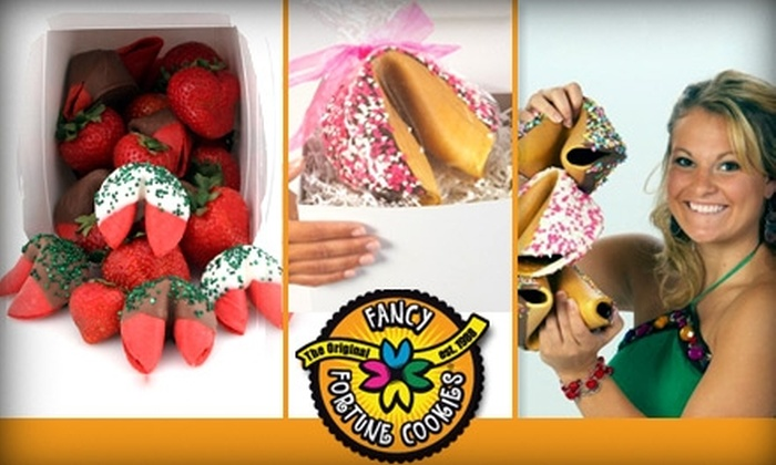 Fancy Fortune Cookies - Pittsburgh: $20 for $50 Worth of Gourmet Fortune Cookies and Personalized Fortunes at Fancy Fortune Cookies