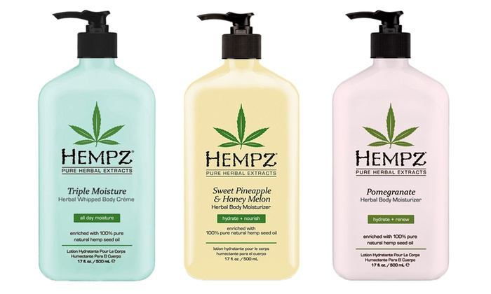 Hempz Herbal Moisturizers (17oz.)