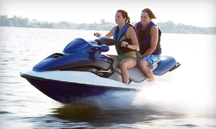 Fifty-Fifty Water Sports - Leesville: $50 for a 90-Minute Jet-Ski Rental from Fifty-Fifty Water Sports in Leesville ($105 Value)