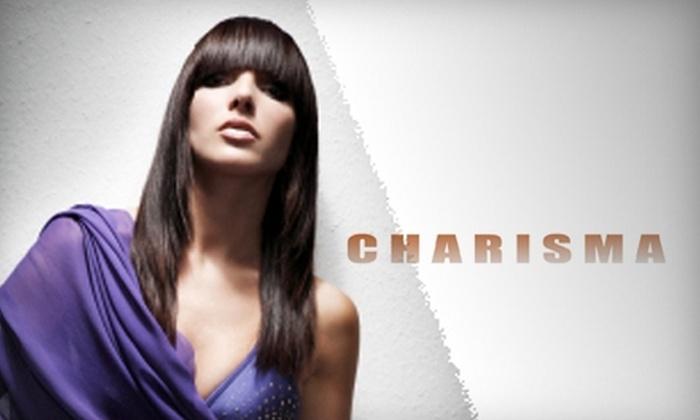 Salon Charisma - Canyon Gate: $35 for Haircut and Deep-Conditioning Treatment at Salon Charisma