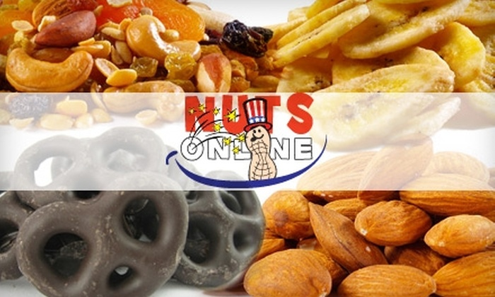 Nuts Online - Oklahoma City: $15 for $30 Worth of Nuts, Sweets, & Dried Fruit from Nuts Online