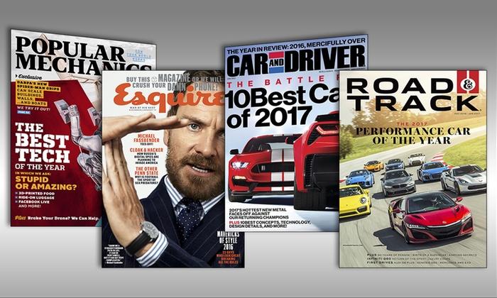 Men's Magazines - Hearst Magazines | Groupon