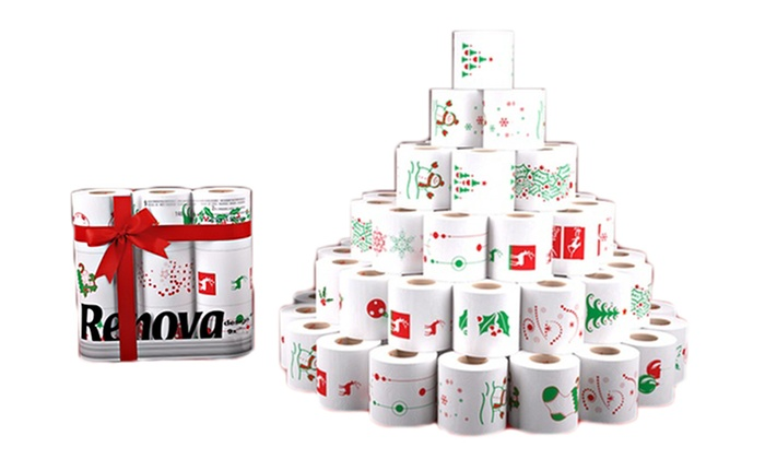 Christmas Toilet And Kitchen Rolls Groupon