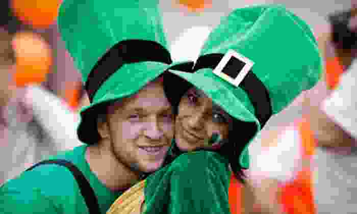 Barcrawls.com - Multiple Locations: St. Patrick's Day Party and Bar Crawl for One, Two, Four, or Six from Barcrawls.com on March 15–17 (Up to 59% Off)
