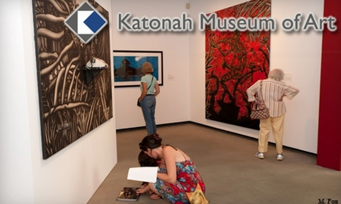 Katonah Museum of Art - Bedford: $25 for an Individual Membership or $40 for a Family Membership to the Katonah Museum of Art