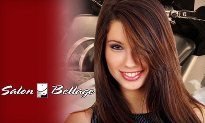 Salon Bellage - Columbus: $25 for $75 Worth of Hair Services at Salon Bellage