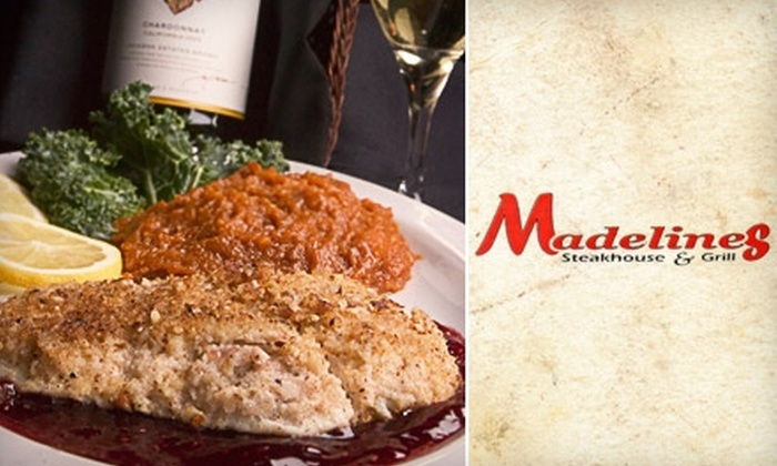 Madeline's Steakhouse & Grill  - South Jordan: $15 for $30 worth of Savory Steaks, Seafood, and More at Madeline's Steakhouse & Grill
