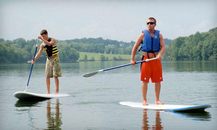 Marsh Creek Watersports - Downingtown: $30 for a Standup Paddleboard Rental with Introductory Lesson from Marsh Creek Watersports in Downingtown ($60 Value)