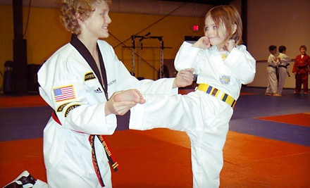 8 Beginner's Tae Kwon Do Classes for Kids or Adults with Uniform and Belt - A2 Martial Arts in Ann Arbor